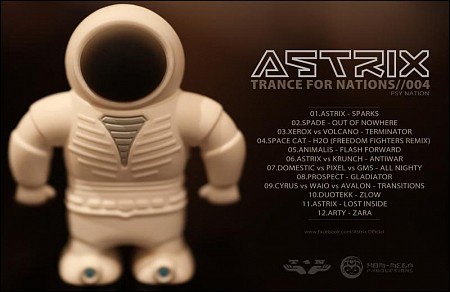 Astrix - Trance For Nations 004 Mix